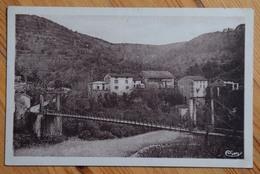 01 : Serrières-sur-Ain - Le Pont Suspendu Sur L'Ain - (n°13450) - Frankreich