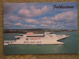 HOVERSPEED SEACAT CATAMARAN HOVERSPEED BOULOGNE - Ferries
