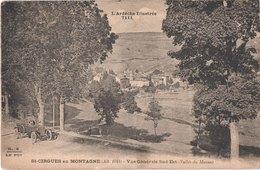 FR07 SAINT CIRGUES EN MONTAGNE - Vue Générale - Voiture - France