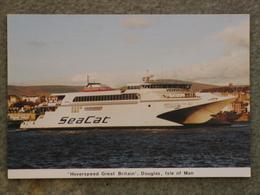 HOVERSPEED SEACAT CATAMARAN HOVERSPEED GREAT BRITAIN AT DOUGLAS - Ferries