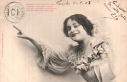 MESSIEURS DE LA POSTE.... BERGERET CARTE PRECURSEUR CIRCULEE 1903 - Bergeret