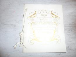 Document ( 403 ) Chanson Zang Lied Huwelijkslied Pauwels Mariage Huwelijk Léonie Van Agt - Schmitz Blankenberge ? 1900 - Musica & Strumenti