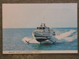 CONDOR 5 HYDROFOIL AT SEA - Ferries
