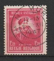 MiNr. 791 Belgien / 1947, Juni. 50. Jahrestag Der Belgischen Antarktis-Expedition Von 1897. RaTdr.; MiNr. 791 Gez. 14, M - 1936-1951 Poortman