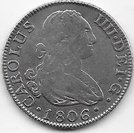Espagne - 2 Réals - 1806 - Argent - Madrid - [ 1] …-1931 : Royaume