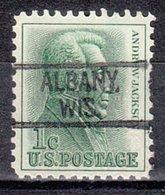 USA Precancel Vorausentwertung Preo, Locals Wisconsin, Albany 819 - Vereinigte Staaten