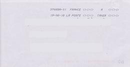 Toshiba 37668A-01 A TAXER Du 19-06-18 - Marcophilie (Lettres)