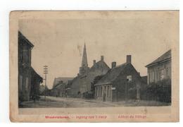 Westvleteren - Ingang Van 't Dorp   Entrée Du Village - Vleteren