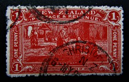 B2750 - New Zealand - 1906 - Mic. 115 - Used Stamps