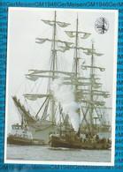 Netherlands Postcard Ship / Sail Amsterdam 1985 Guayas - Ships
