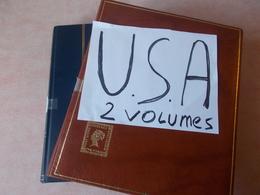 Lot N° 499 ETATS - UNIS  Magnique Collection En 2 Volumes  Neufs ** Ou Oblitérés   / No Paypal - Stamps
