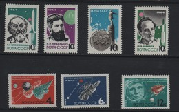RUSSIE N° 2802/2808  ** - COSMOS - Cote 8.50 € - Russia & USSR