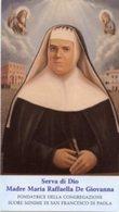 Santino SERVA DI DIO MADRE MARIA RAFFAELLA DE GIOVANNA - PERFETTO P82 - Religione & Esoterismo