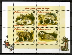 Cuba 2010 / Fauna Mammals Big Cats Tigers MNH Mamíferos Felinos Tigres Säugetiere / Cu10033  31 - Felinos