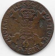Espagne - Charles II - 1700 - Cuivre - [ 1] …-1931 : Royaume