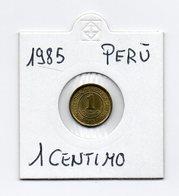 Perù - 1985 - 1 Centimo - Vedi Foto - (MW1648) - Perú