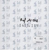 Paquet De 10 Pochettes Noires Hawid Double Soudure Format 141,5 X 139  à  - 50% - Bandes Cristal