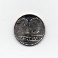 Polonia - 1989 - 20 Zlotych - Vedi Foto - (MW1650) - Polonia