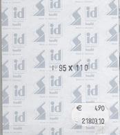 Paquet De 10 Pochettes Noires Hawid Double Soudure Format 95 X 110  à  - 50% - Bandes Cristal