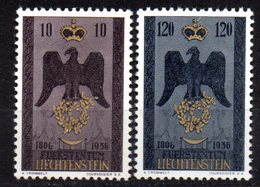Serie Nº 313/4  Liechtenstein - Liechtenstein