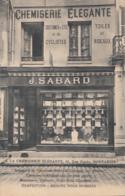 MONTARGIS          A LA CHEMISERIE ELEGANTE .  J SABARD - Montargis