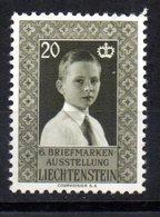 Sello  Nº 308  Liechtenstein - Liechtenstein