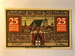 Allemagne Notgeld Berden 25 Pfennig - [ 3] 1918-1933 : Weimar Republic
