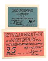 **notgeld  Westerburg  Serie Compleet        1412.1 - [11] Emissions Locales