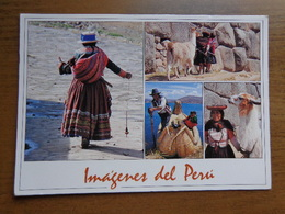 Peru / A Country That Maintains It's Vibrant Traditions --> Written With Stamps - Pérou
