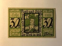 Allemagne Notgeld Tonndorf 30 Pfennig - [ 3] 1918-1933 : Weimar Republic