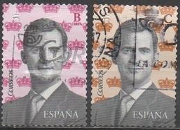 ESPAGNE__N°4736/4737__OBL VOIR SCAN - 1931-Today: 2nd Rep - ... Juan Carlos I
