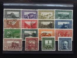 BOSNIA ERZEGOVINA 1906 - Vedute Nn. 29/44 Timbrati (2 Valori Denti Mancanti) + Spese Postali - Bosnia And Herzegovina