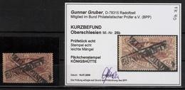 Oberschlesien, 1920, Päckchen-Stp., Befund!  ,  #a1243 - Deutschland
