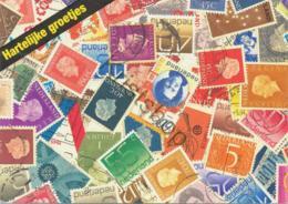 Postzegeltaal -kaart [AA11-357) - Niederlande