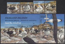 FALKLAND ISLANDS  Michel  886/89, BLOCK 30  Very Fine Used - Falkland