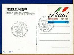 ITALIA -  SANREMO -  GIUSEPPE  GARIBALDI - Militaria