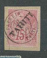 TAHITI  N°  17  OB SUR FRAGMENT  TB  2 - Tahiti