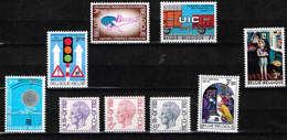 Lot Belg Selectie 1972 Postfris** - België