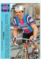 Yvon BERTIN . 2 Scans. Coop Mercier 1982 - Cyclisme
