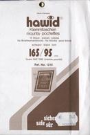 Paquet De 10 Pochettes Noires Hawid Double Soudure Format 165 X 95  à  - 50% - Bandes Cristal