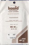 Paquet De 10 Pochettes Noires Hawid Double Soudure Format 100 X 60  à  - 50% - Bandes Cristal