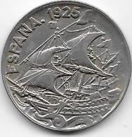 Espagne - 25 Centimos - 1925 - [ 1] …-1931 : Royaume