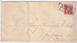 """1877, """" HAMBURG - UHLENHORST """"  ,  #a1233 - Hamburg"""