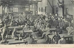 CPA 69 RHONE Oeuvre De La Cantine Militaire De La Gare De Lyon Perrache Cliché Lejeune - Lyon 2