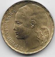 Espagne - 1 Peseta - 1937 - [ 3] 1936-1939 : Guerre Civile