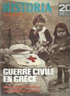 """HISTORIA MAGAZINE  N° 179  """" GUERRE CIVILE EN GRECE """" - History"""