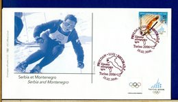 SERBIA MONTENEGRO - SLOVAKIA - ALGERIA - MOLDOVA - ARMENIA - CROATIA - SLOVENIA - GIOCHI OLIMPICI TORINO 2006 - Inverno2006: Torino
