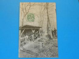 """91 ) Brunoy - La Fosse-daniel """" Lavoir """" Foret De Sénart  - Année 1907 - EDIT - Chopard - Brunoy"""