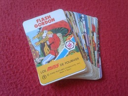 SPAIN. ANTIGUA BARAJA DE CARTAS NAIPES CARDS TAMAÑO PEQUEÑO MINI MINIS DE FOURNIER FLASH GORDON ESTUCHE. AÑOS 70 SIN USO - Otros
