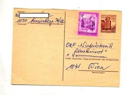 Carte Postale 1.50 Wien + Lac  Circulé - Ganzsachen
